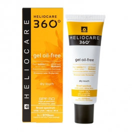 HELIOCARE 360º GEL OIL-FREE DRY TOUCH SPF 50 SUNSCREEN, 50 МЛ
